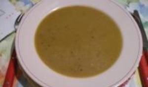 Soupe au potiron et aux châtaignes