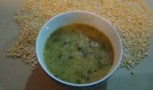Soupe aux Haricots Mung et Concombres