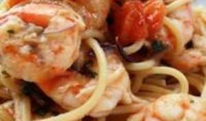 Spaghettis ai Gamberetti