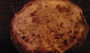 Tarte au Saumon et Fromage