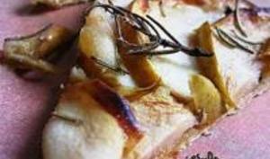 Tarte Fine aux Pommes, Beurre Salé, Miel et Romarin