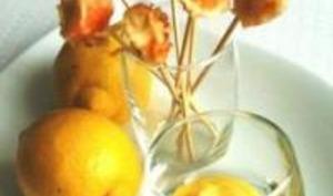 Tempura de Surimi et Lemon Curd Salé