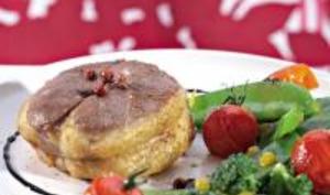 Tournedos de Canard et sa Poêlée de Légumes Minute