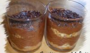 Verrines Chocolat-Cerises