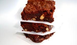 Brownies au Nutella et noix caramélisées