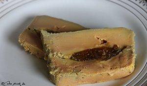 Foie gras mi-cuit aux figues