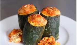 concombres farcis de carottes parfumées au fenouil et au laurier
