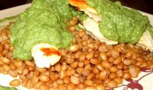Pesto de blettes et de noix