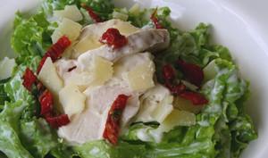 Salade de poulet sauce légère