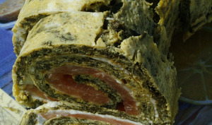Roulé Saumon - Epinards