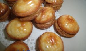 Minis madeleines au spéculoos