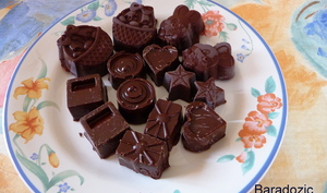 Mes premiers chocolats maison