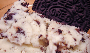 "Glace vanille aux ""Oreo"""