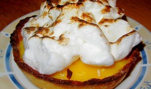 Tartelettes-meringuees citron et sirop d'agave