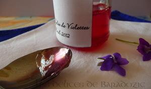 Gelée de violette