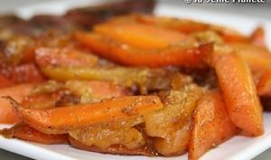 Sauté de carottes aux abricots & cumin