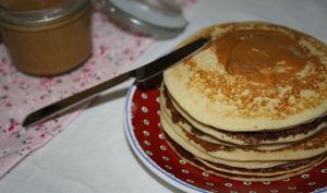 Pancakes au lait concentré