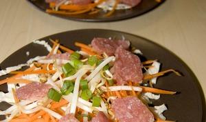 Salade de nems shuas
