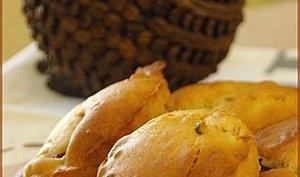 Muffins aux nectarines et aux pistaches