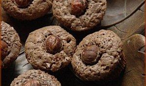 Mini-moelleux au chocolat et aux noisettes