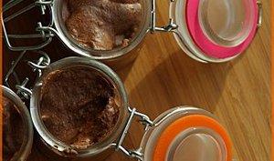Mousses au chocolat en verrines