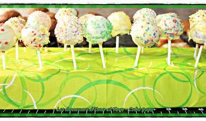 Cakes pops philadelphia et chocolat blanc