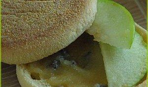 Pain muffins à la pomme et au chocolat