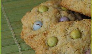 Cookies au chocolat blanc et aux Smarties ®