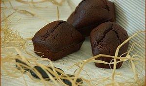 Minis cakes au chocolat