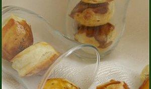 Petites bouchées aux épinards et à la crème fraiche