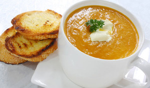 La soupe au potiron de François