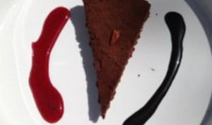 Tarte Moelleuse au Chocolat et Piment