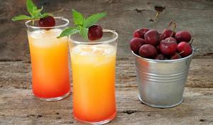 Cocktail coucher de soleil