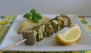 Kebab de Poisson au Citron et Cumin