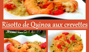 Risotto de Quinoa aux Crevettes
