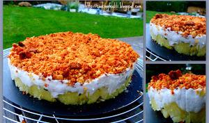 Comme un cheesecake... chaud... et de poisson