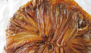 Tatin d'endives caramélisées au miel