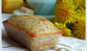 Petits gâteaux au citron, pavot et lait ribot.