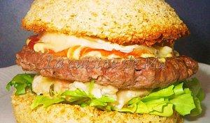 Cheesburger à ma façon