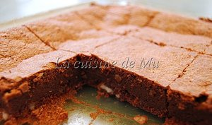 Brownie noisettes-amandes