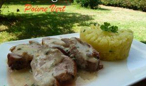 Filet Mignon de Porc au Poivre Vert
