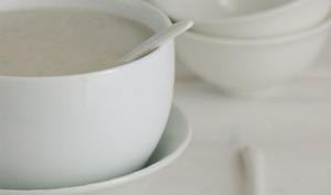 Velouté d'endives et lait de coco