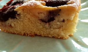 Le gâteau allemand aux prunes
