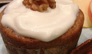 Les cupcakes Pomme-Cannelle et sirop d'érable