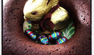 Couronne tout chocolat