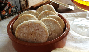 Les biscuits fondants au rhum