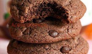 Cookies moelleux au nutella® et aux pépites de chocolat