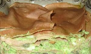 Lasagnes à la farine de châtaigne et à la brousse de brebis