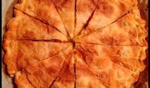 Le soleil andalou : feuilleté aux poivrons et au chèvre d'Andalousie