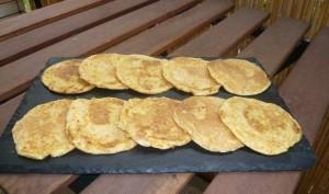 Pancakes de potiron